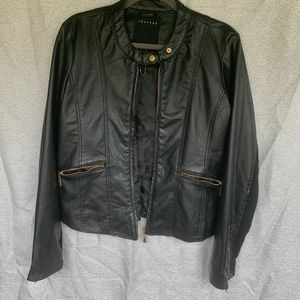 Therapy leather jacket